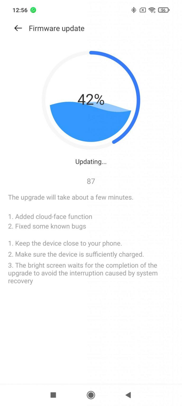 Realme Watch aktivitásmérő teszt 13