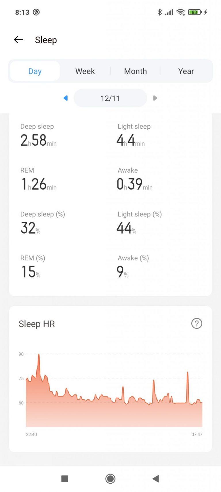 Realme Watch aktivitásmérő teszt 22