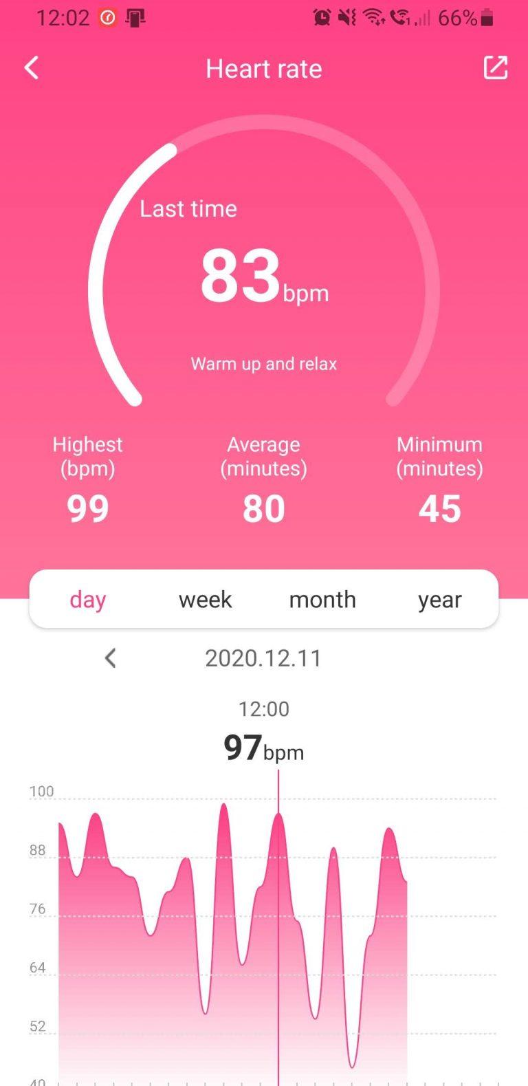 Xiaomi Mibro Air aktivitásmérő teszt 16