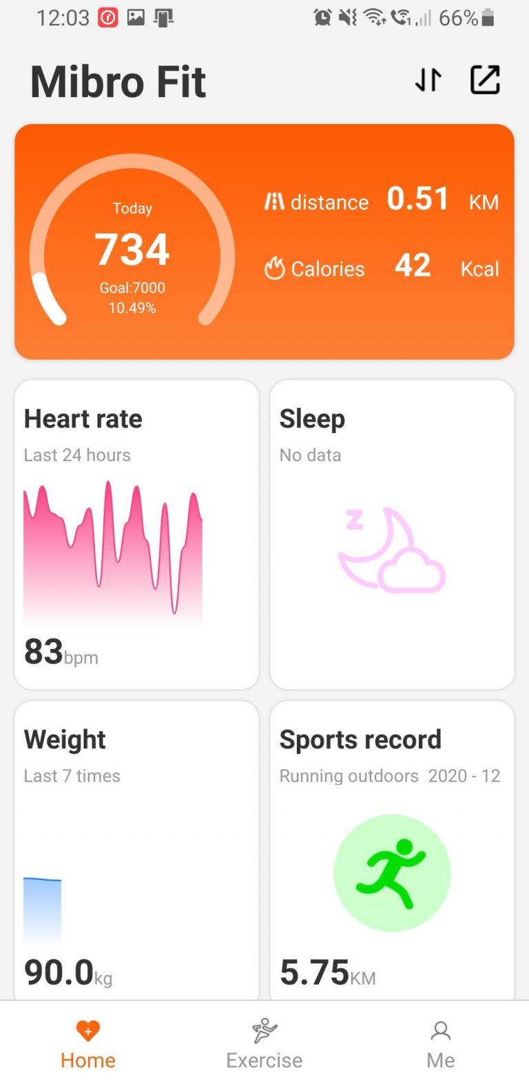 Xiaomi Mibro Air aktivitásmérő teszt 13