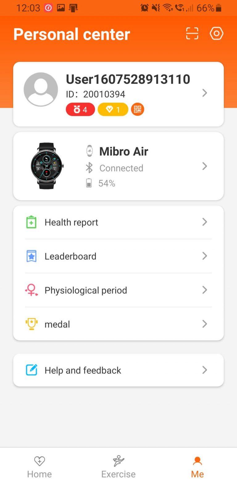 Xiaomi Mibro Air aktivitásmérő teszt 15