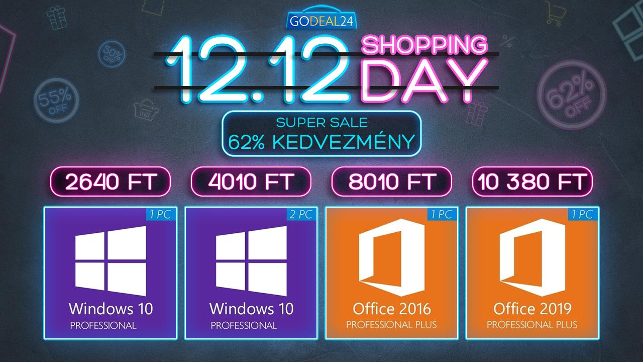 Vásárolj Windows 10-et akár 2000 forintért 2