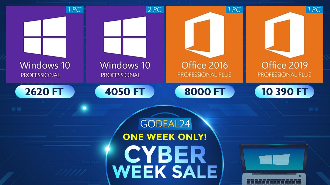 Windows 10 már 2600 forinttól 2