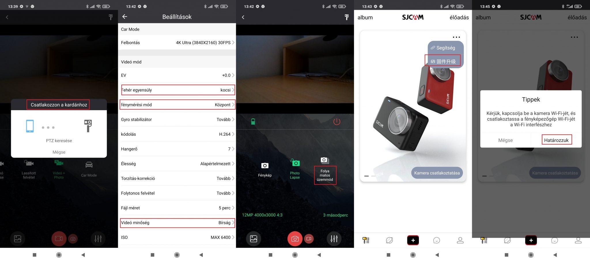 SJCAM SJ10 Pro akciókamera teszt 14