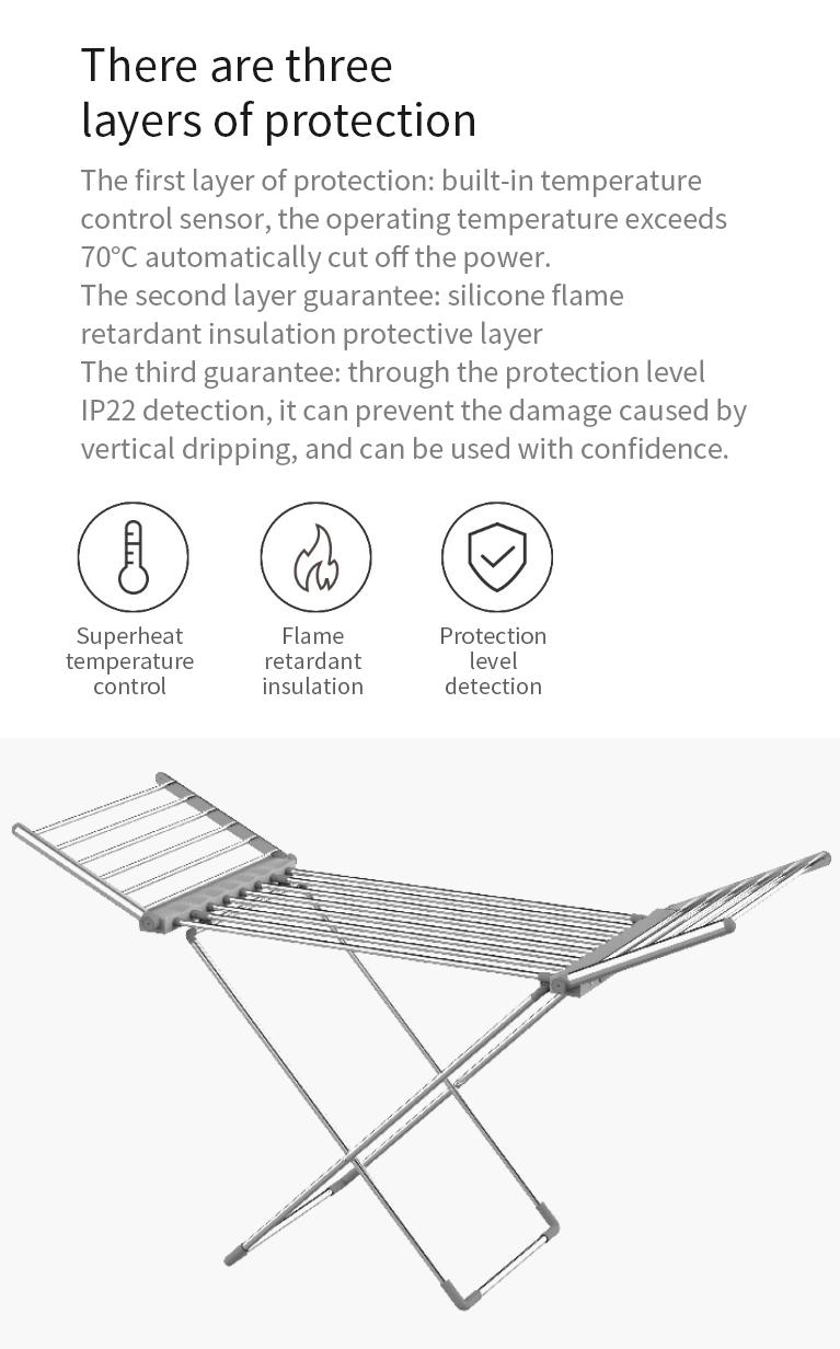 Újabb praktikus Xiaomi termék: itt az elektromos ruhaszárító 3