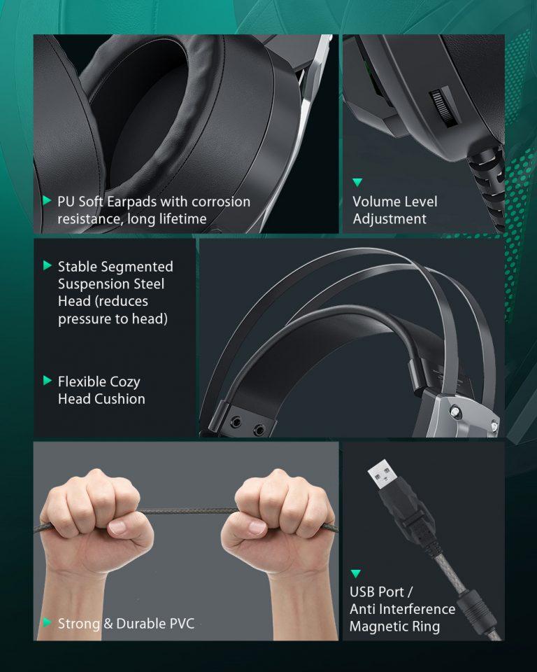 Gamer headset akció a Banggoodon 6