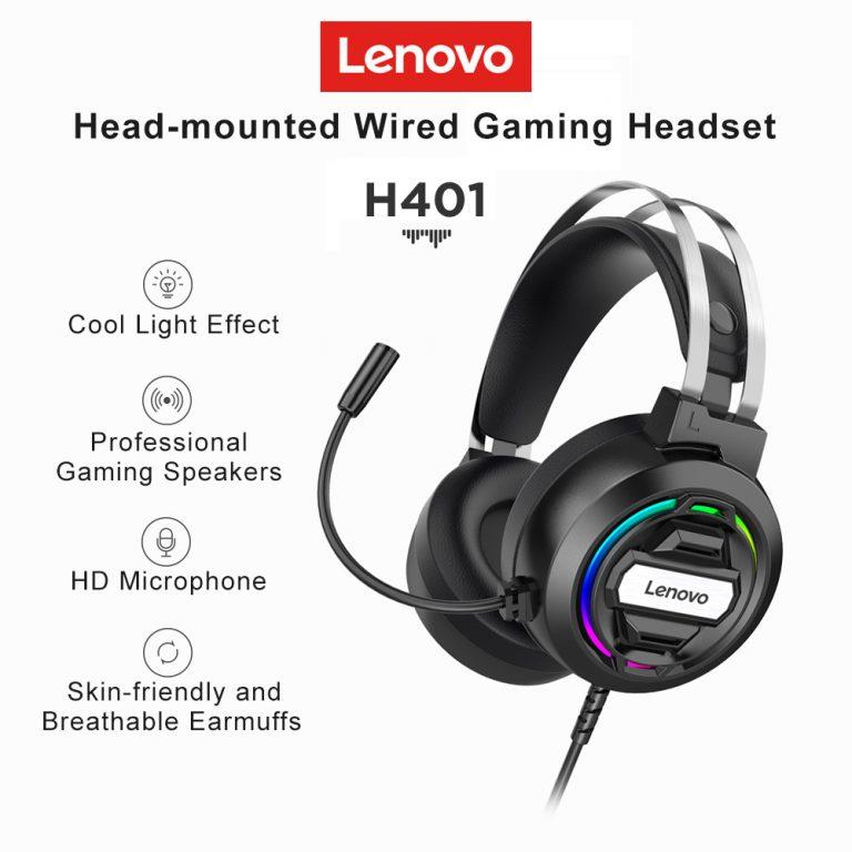 Olcsó gamer fejhallgató a Lenovotól 2