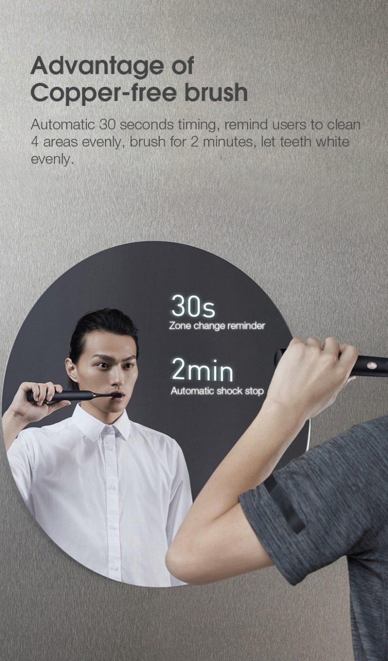 Megint jó áron kapható a Soocas X3U elektormos fogkefe 6