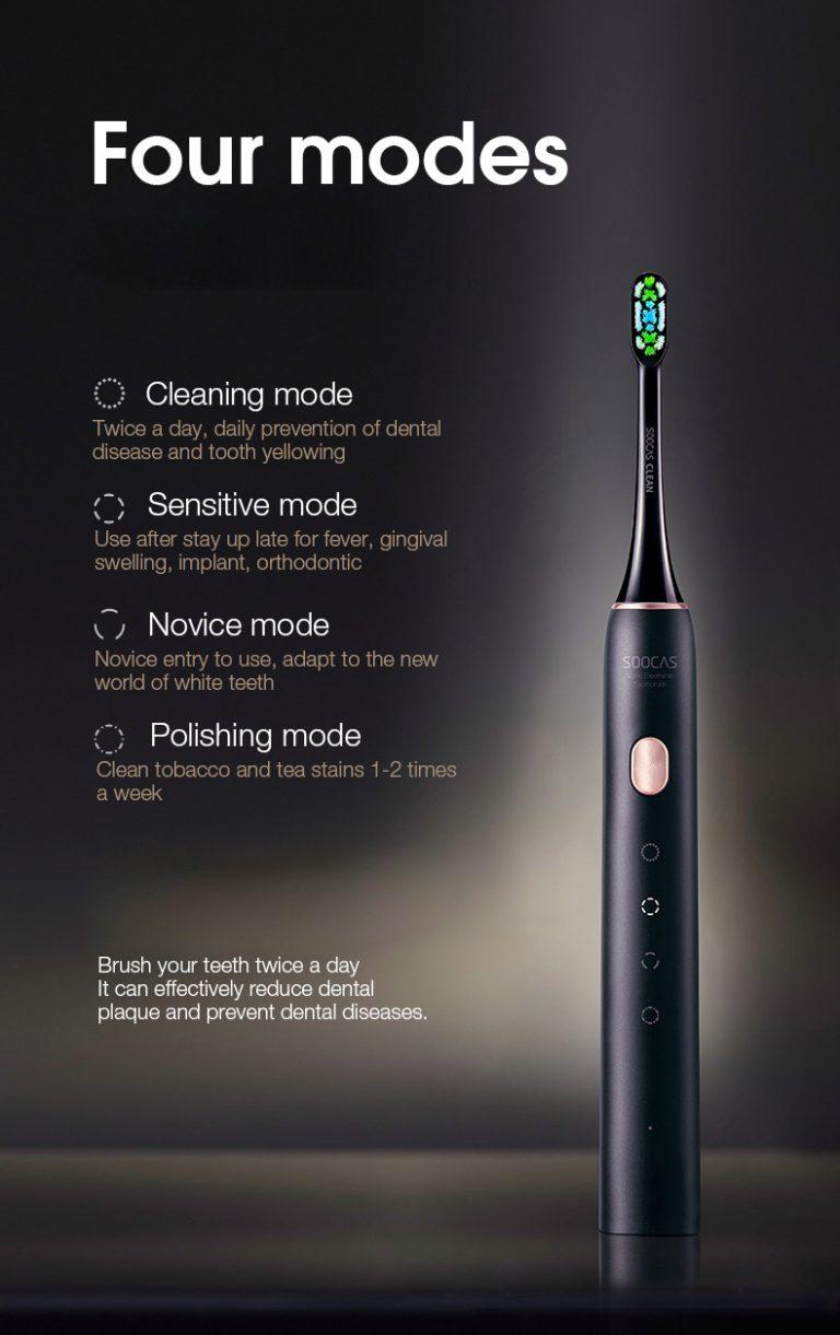 Megint jó áron kapható a Soocas X3U elektormos fogkefe 3