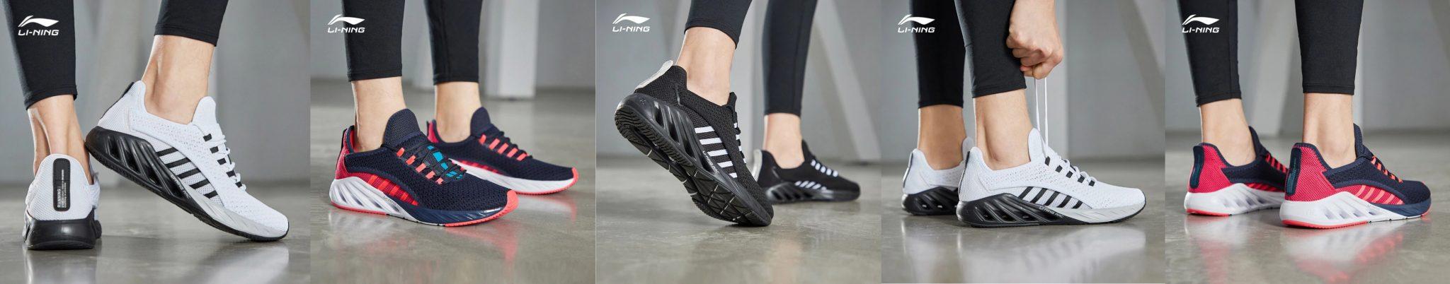 Li-Ning LN Arc cipő teszt 16