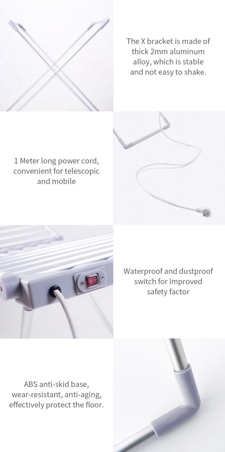Újabb praktikus Xiaomi termék: itt az elektromos ruhaszárító 5