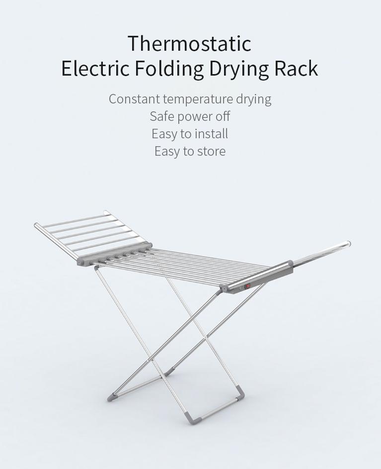 Újabb praktikus Xiaomi termék: itt az elektromos ruhaszárító 2