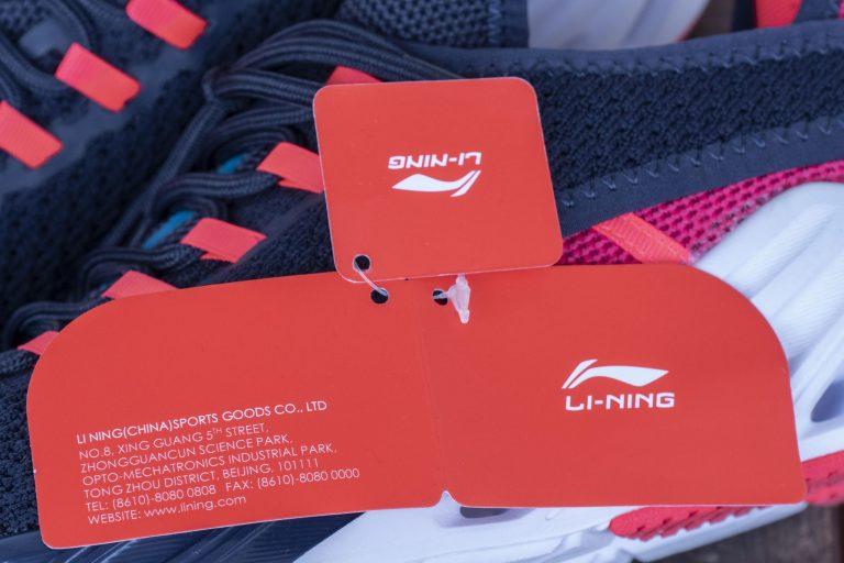 Li-Ning LN Arc cipő teszt 5