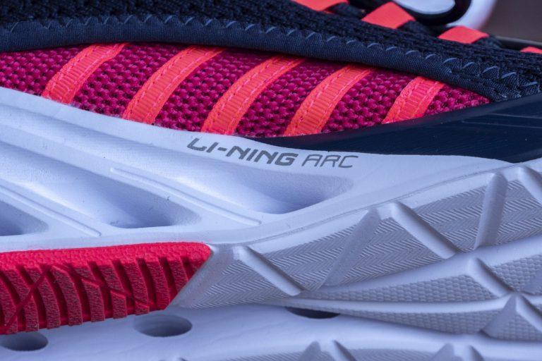 Li-Ning LN Arc cipő teszt 9