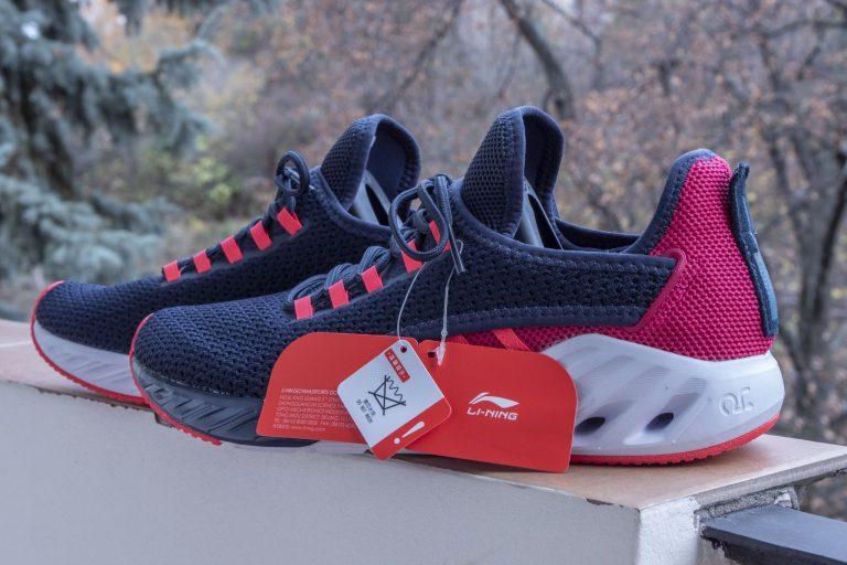Li-Ning LN Arc cipő teszt 13