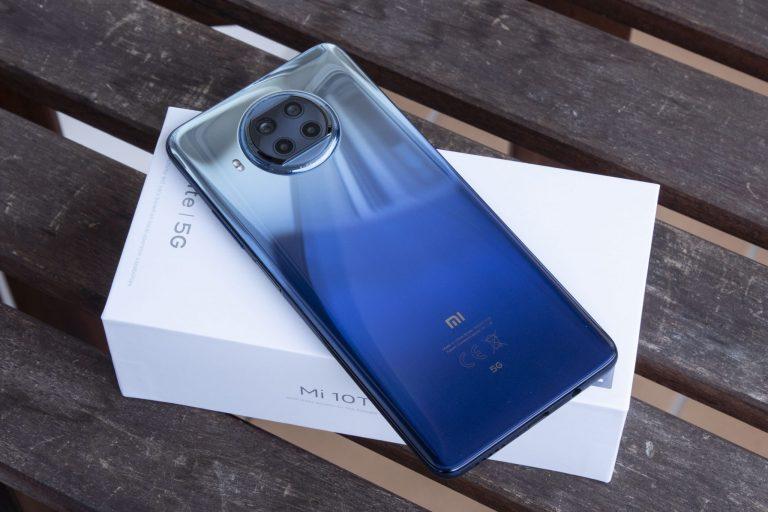 Xiaomi Mi 10T Lite okostelefon teszt 8