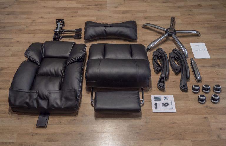 BlitzWolf BW-OC1 irodai szék teszt 2