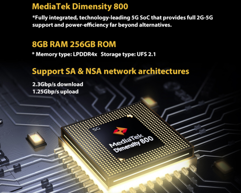 5G-vel villog a Blackview BL6000 Pro strapatelefon 3