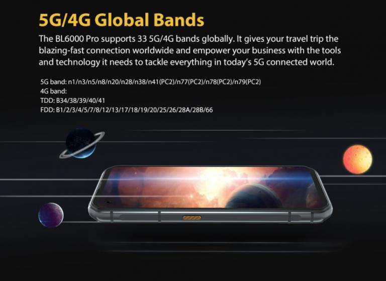 5G-vel villog a Blackview BL6000 Pro strapatelefon 10