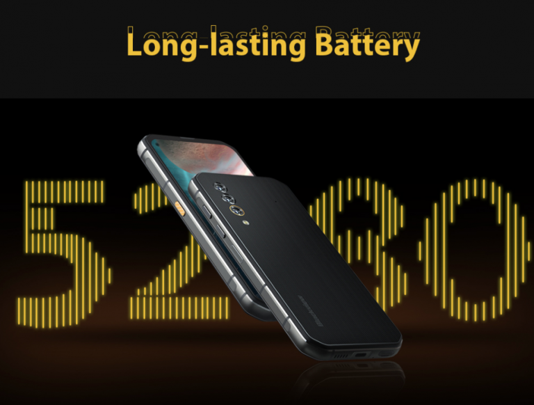 5G-vel villog a Blackview BL6000 Pro strapatelefon 4