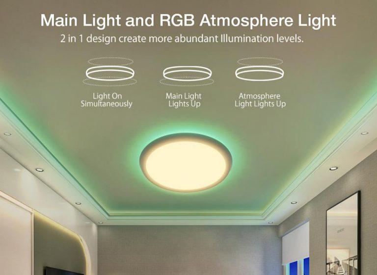 Új BlitzWolf okos mennyezeti lámpa a Banggoodnál 3