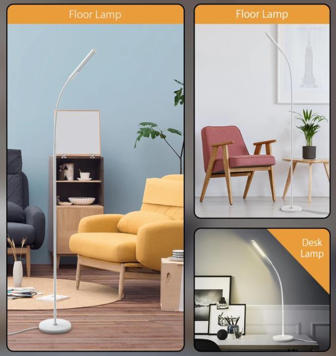 Digoo minimalista állólámpa több, mint megfelelő áron 9