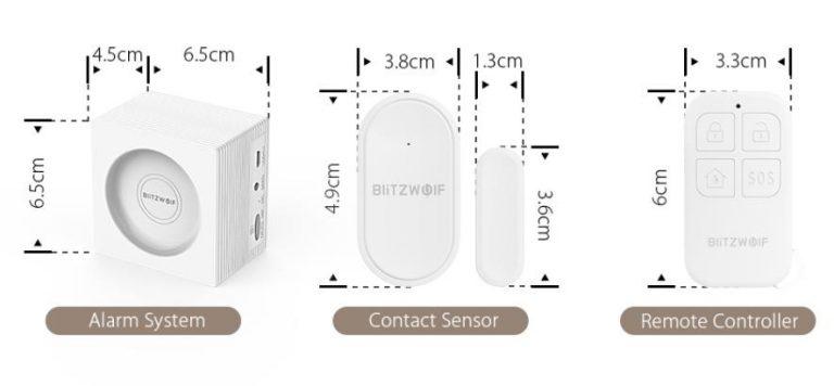 Új, okos biztonsági rendszereket jelentetett meg a BlitzWolf 6