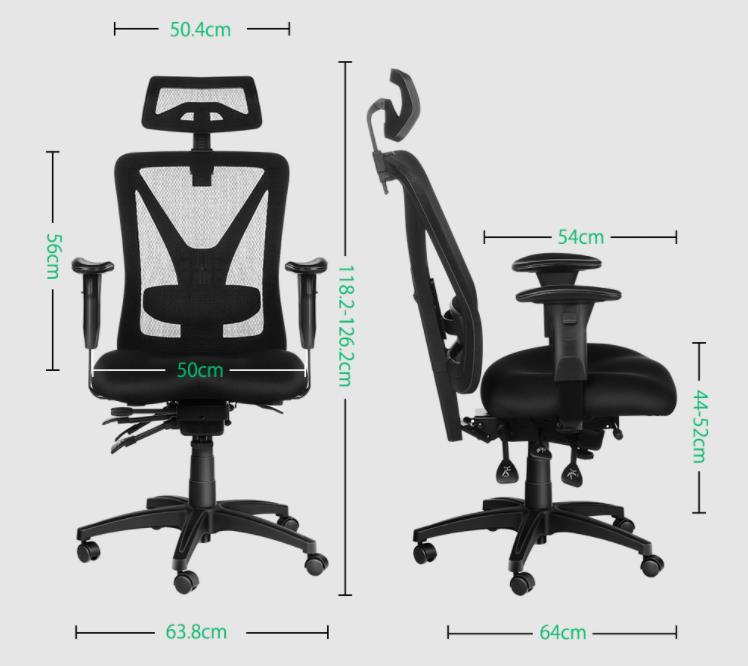 Egy magasabb árfekvésű széket villantott a BlitzWolf 8