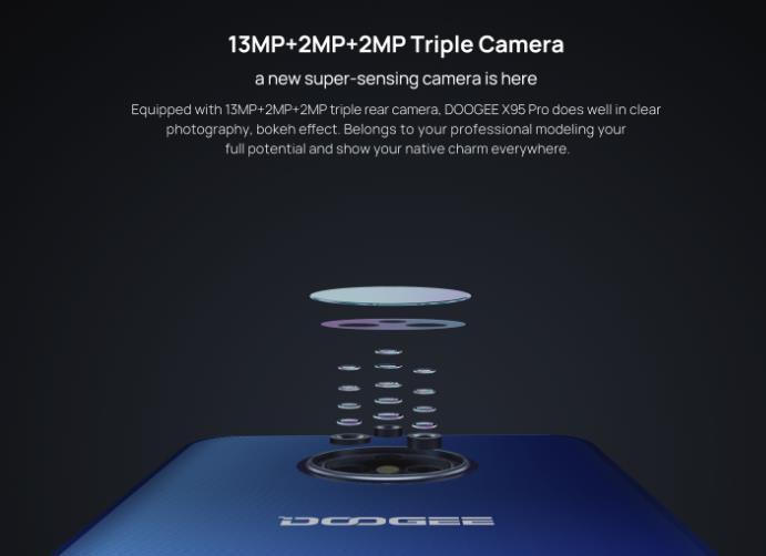 Itt a Doogee X95 Pro, bevezető áron 6