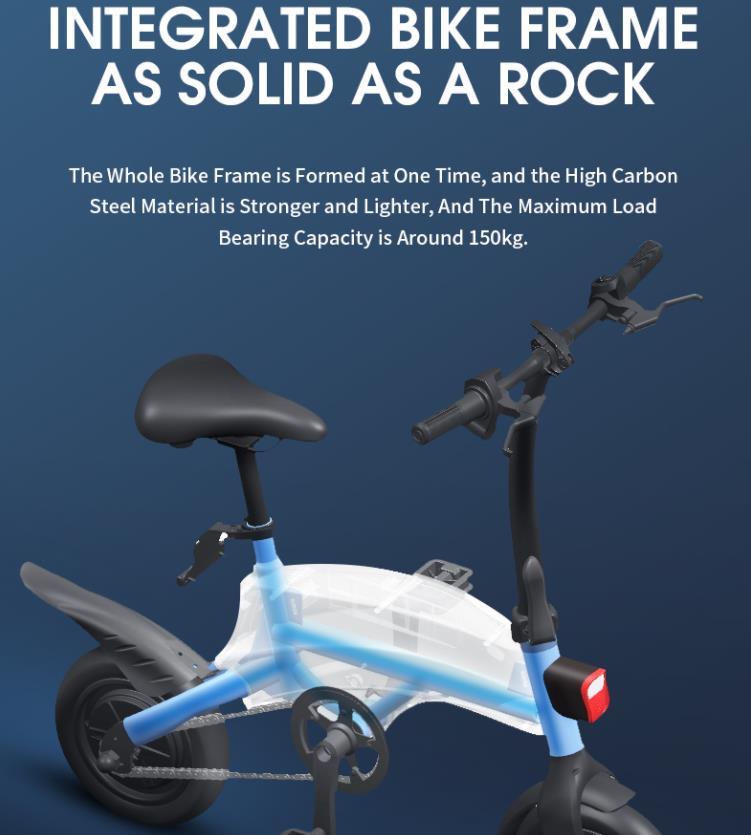 A DYU S2-nél olcsóbb elektromos bicikli nincs 8