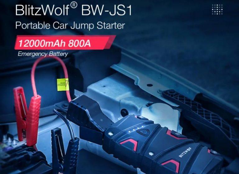 Még olcsóbb lett a BlitzWolf BW-JS1 autóbikázós powerbank 3