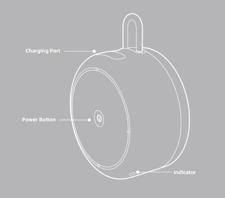 Kirándulós Bluetooth hangszóró Xiaomi módra 7