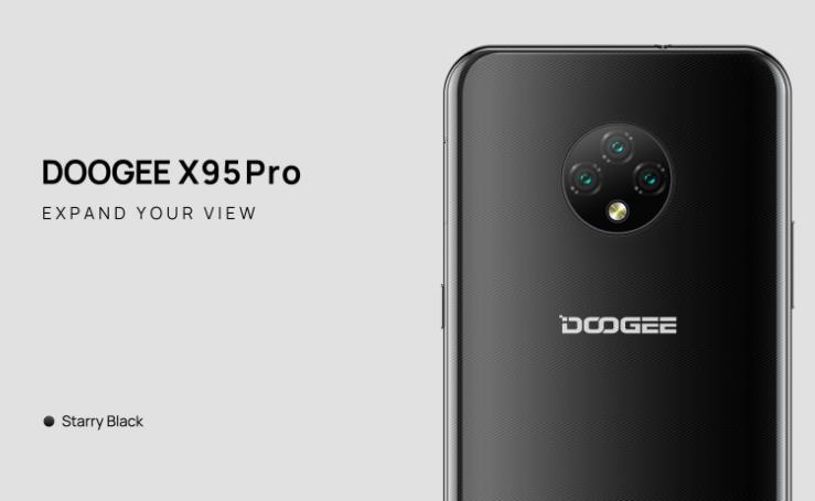 Itt a Doogee X95 Pro, bevezető áron 8