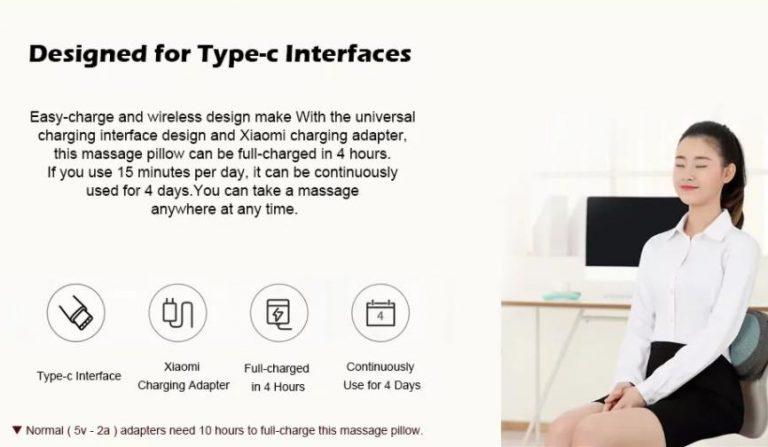 A Xiaomi is a kényelmünkre hajt az akciós masszázspárnával 4