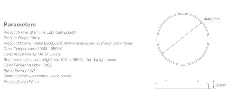 Erős, okos és olcsó mennyezeti lámpa az Offdarks jóvoltából 9