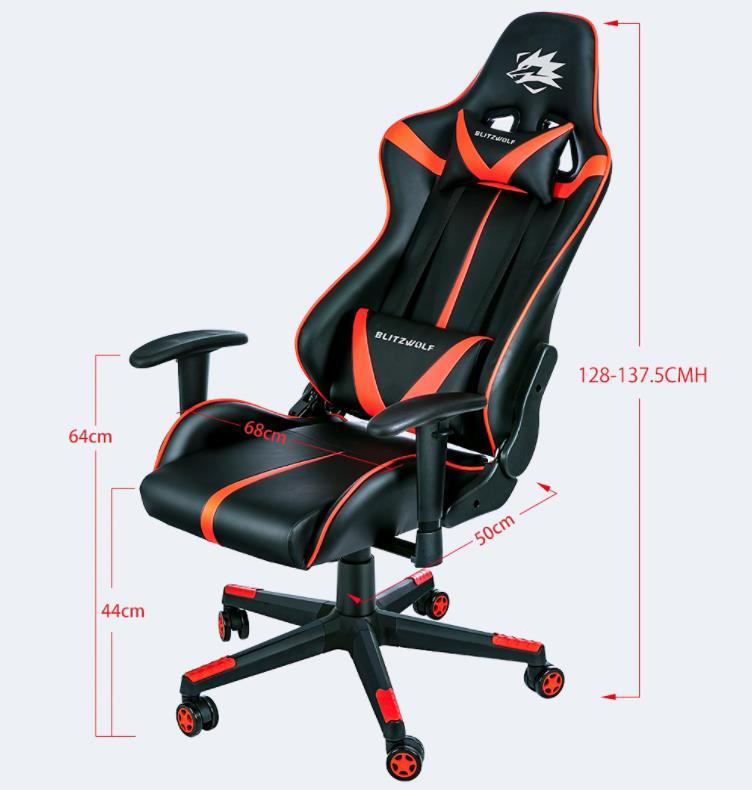 Itt a hetedik BlitzWolf gamer szék 8