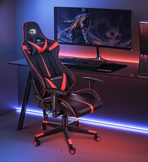 Itt a hetedik BlitzWolf gamer szék 3
