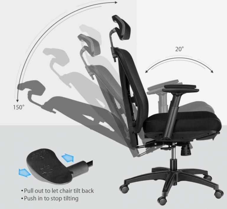 Újabb komoly irodai székkel jelentkezik a BlitzWolf 4