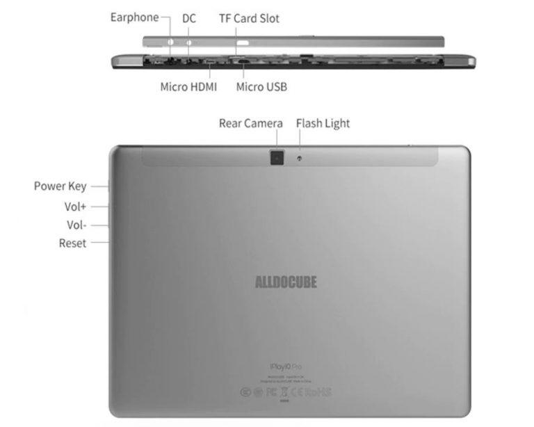 Az Alldocube iPlay 10 pro tablet már 31 000 forintért rendelhető 9