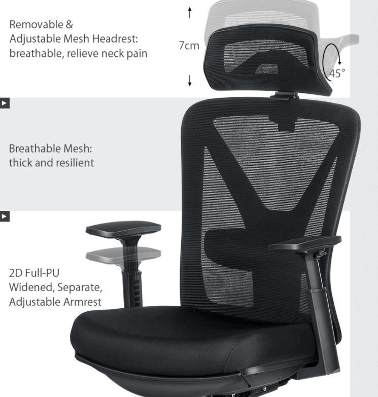 Újabb komoly irodai székkel jelentkezik a BlitzWolf 5