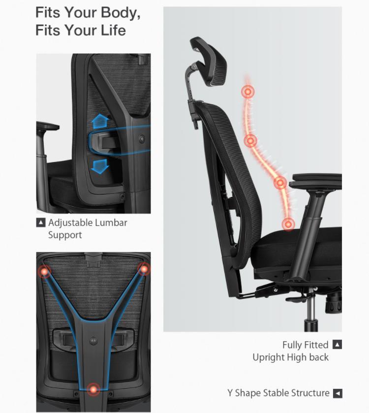 Újabb komoly irodai székkel jelentkezik a BlitzWolf 7