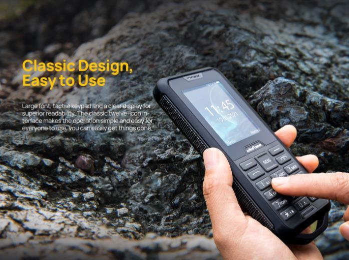 Túlélő butatelefon az Ulefone-tól 4