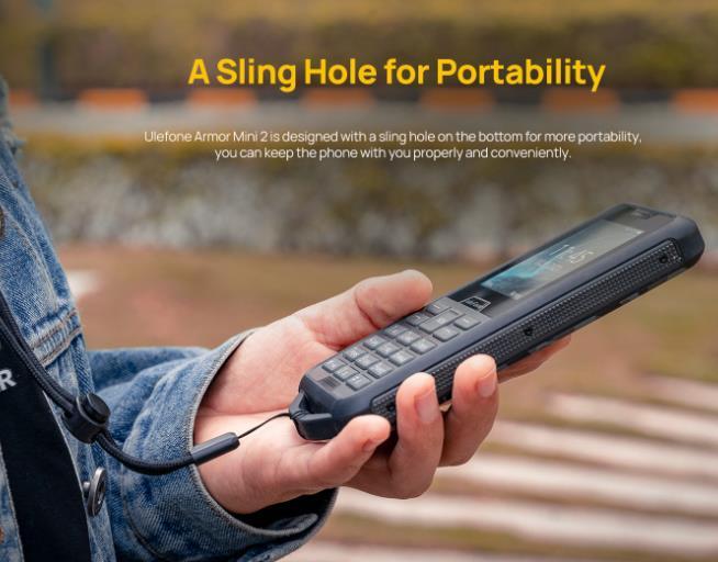 Túlélő butatelefon az Ulefone-tól 3