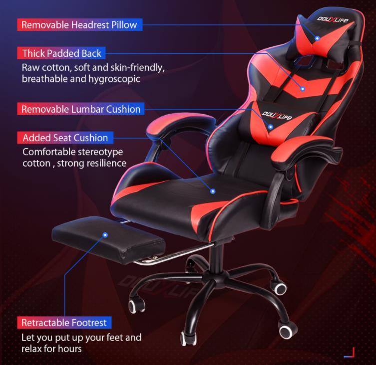 Már kapható a DouxLife gamer széke 5