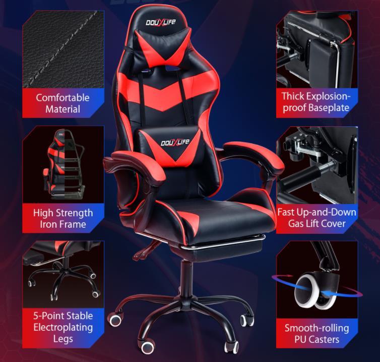Már kapható a DouxLife gamer széke 4