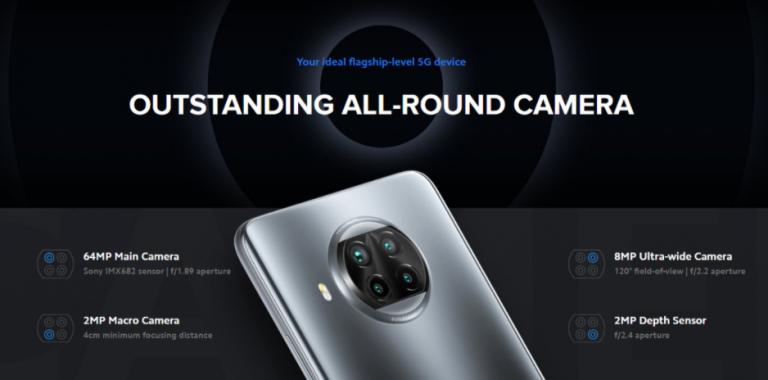 5G-s Xiaomi telefon 100 000 alatt – Mi 10T Lite 6