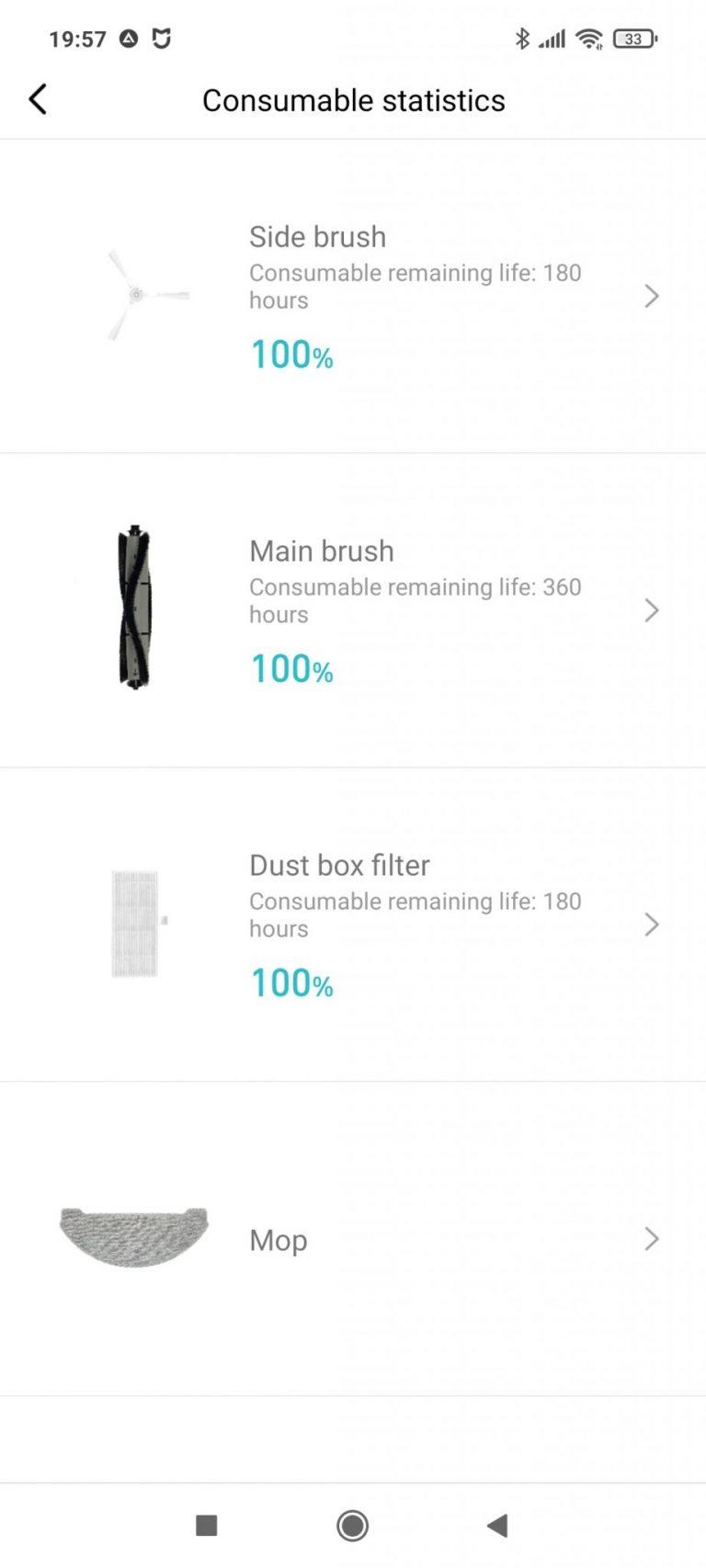 Xiaomi Viomi S9 önürítő robotporszívó teszt 26