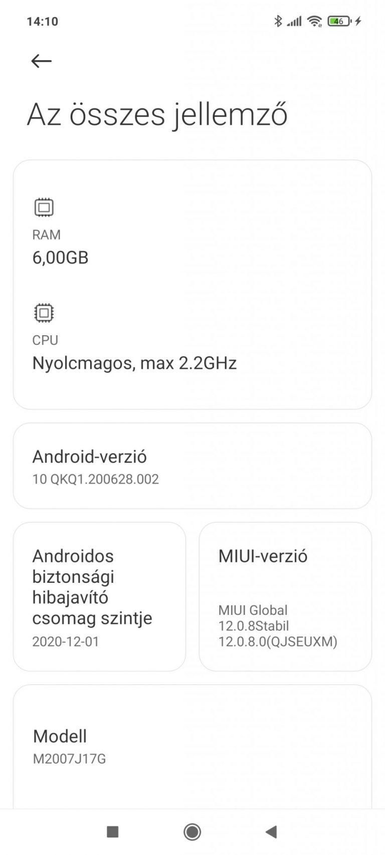 Xiaomi Mi 10T Lite okostelefon teszt 29