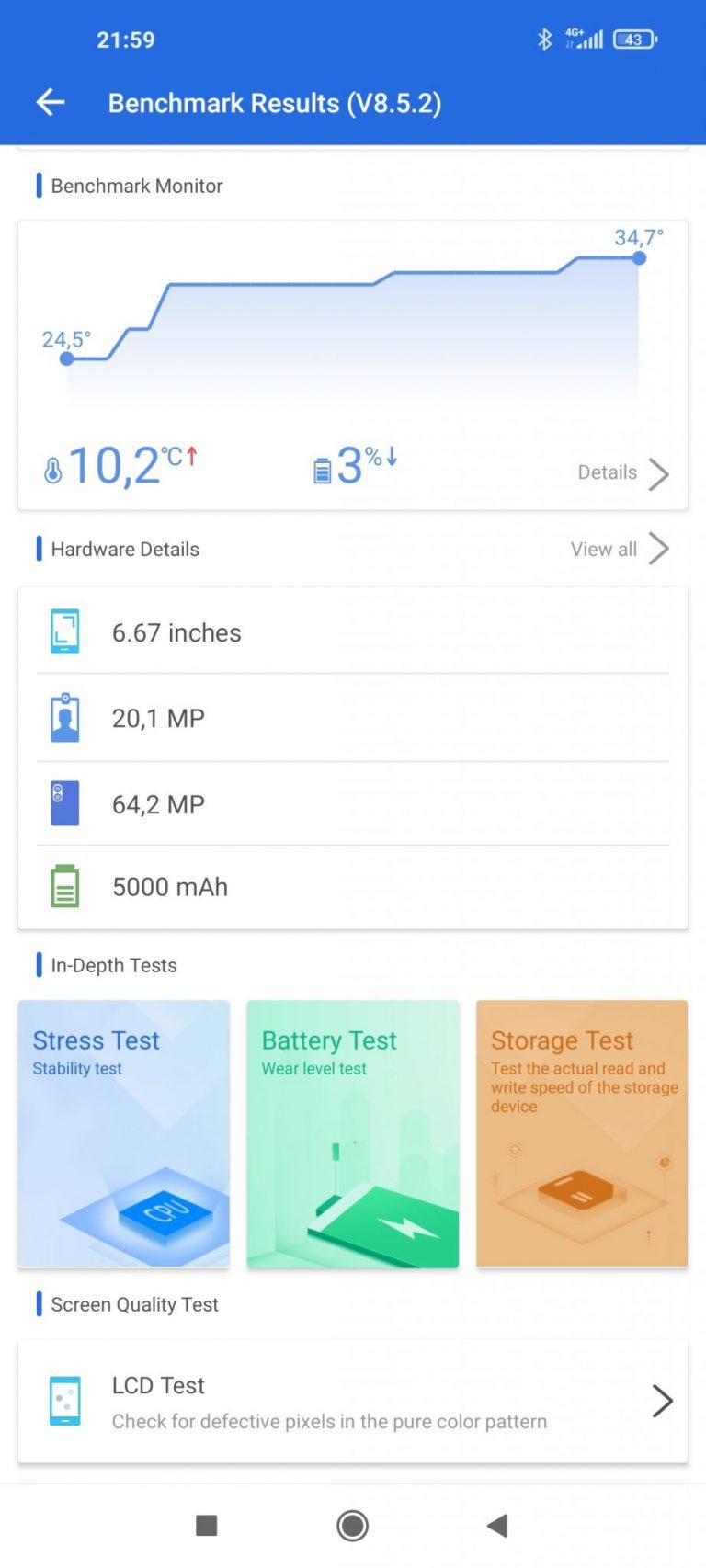 Xiaomi Mi 10T okostelefon teszt 30