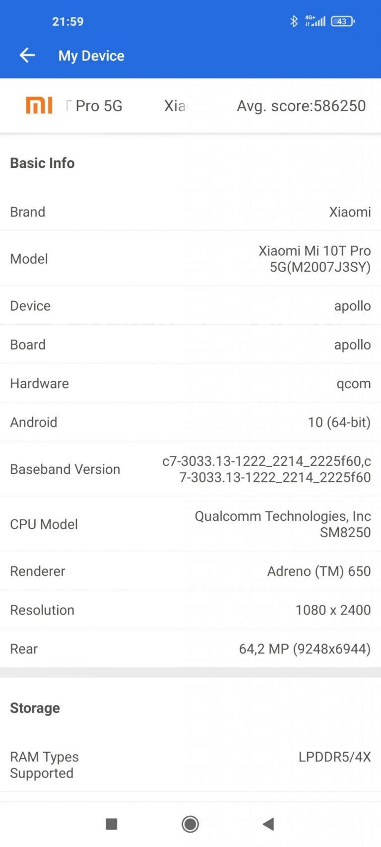 Xiaomi Mi 10T okostelefon teszt 31